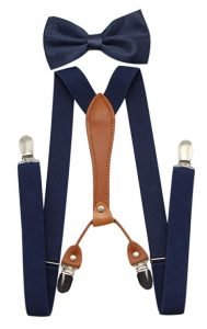 Suspenders set for men