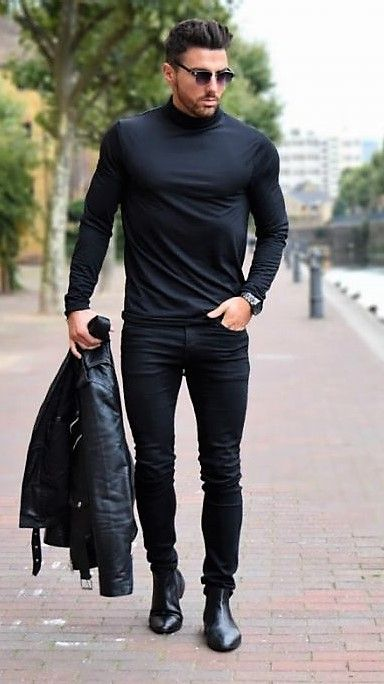 Men cocktail attire outfit example