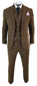 BROWN MEN WEDDING SUIT