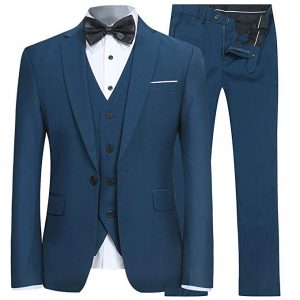 Blue Men wedding suite