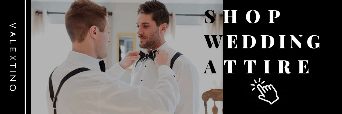 Shopping for wedding attire men