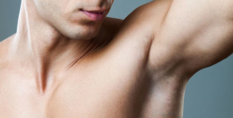 Men Armpits shaved