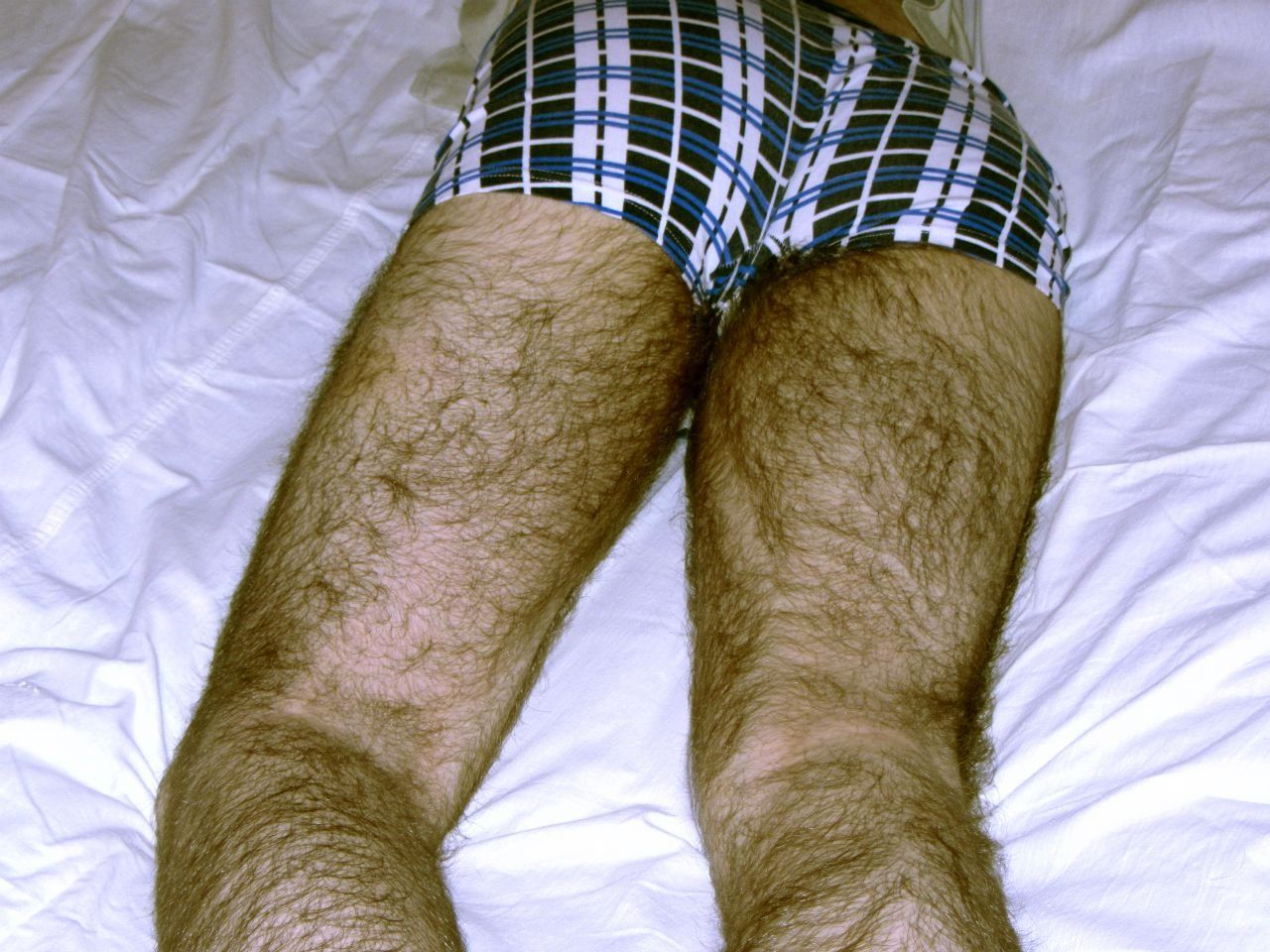 hairy legs man should I shave it?