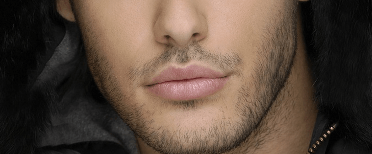 Solutions for men to get pink lips