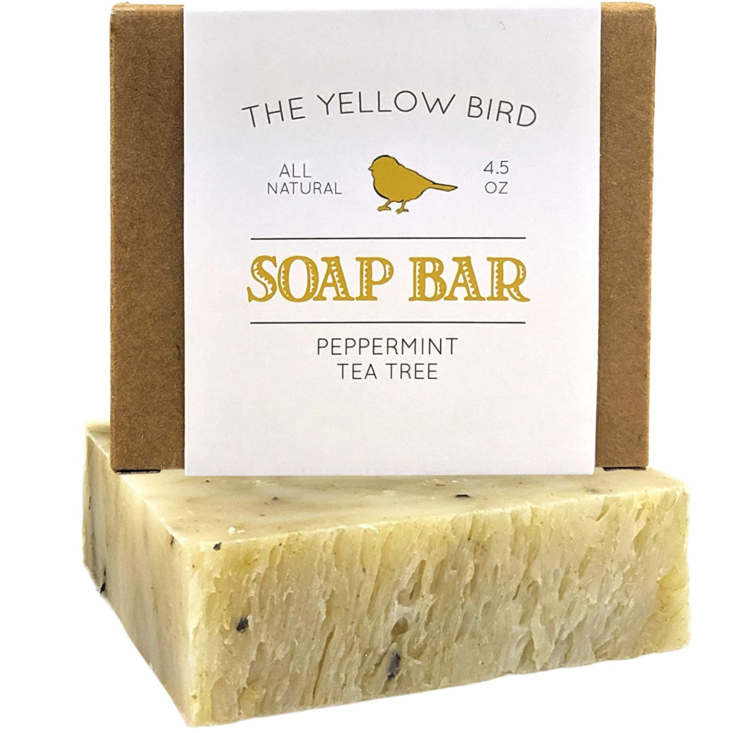 Peppermint and Tea Tree Antibacterial Soap For Body odor