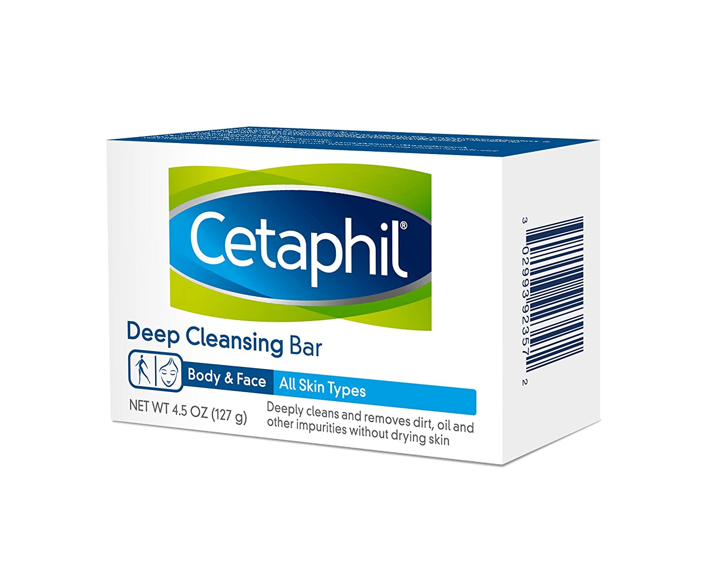 Cetaphil Deep Cleansing Face and Body Bar