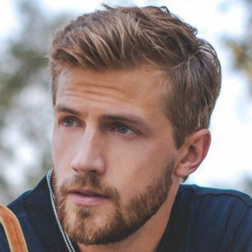 side part hairstyle for men with thin hair