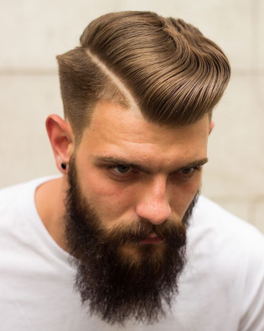 The Pompadour Hairstyle