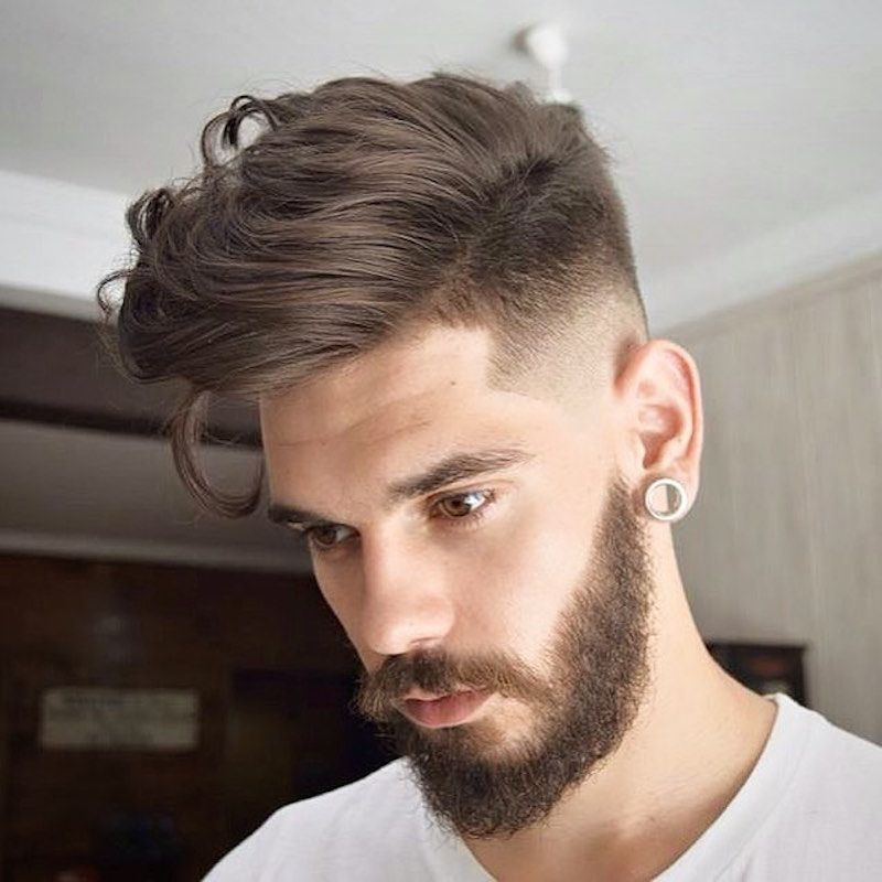 A Short Quiff with Beard
