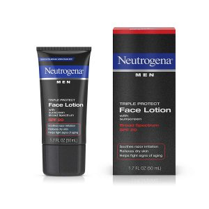 Neutrogena Triple Protect Men's Daily Face Lotion with Broad Spectrum SPF 20