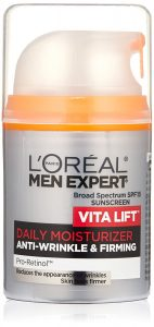L'Oreal Skincare Men Expert Daily Moisturizer with Broad Spectrum SPF 15 and Pro-Retinol