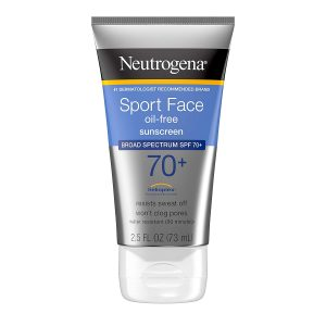 Neutrogena Sport Face Sunscreen, Oil-Free with Broad Spectrum SPF 70+