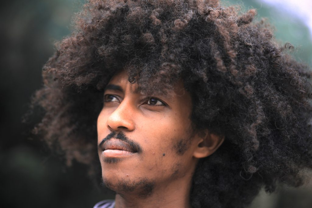 general tips for curly hair men