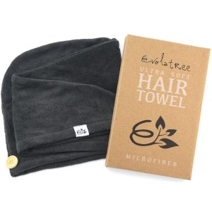 evolatree microfiber towel hair