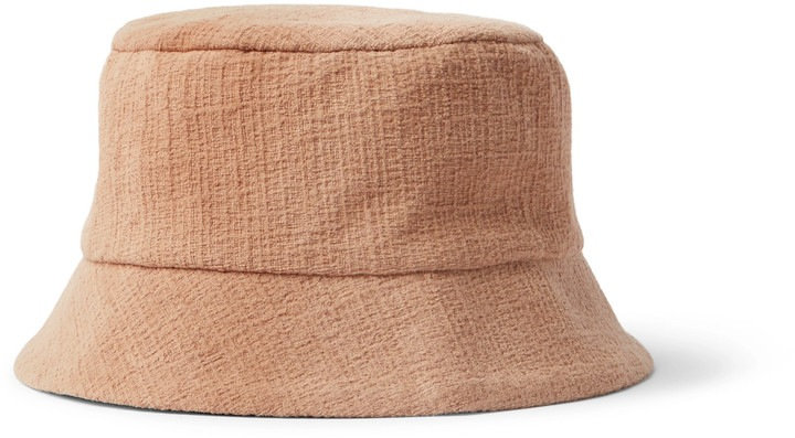 Cotton-Corduroy Bucket Summer Hat For Men