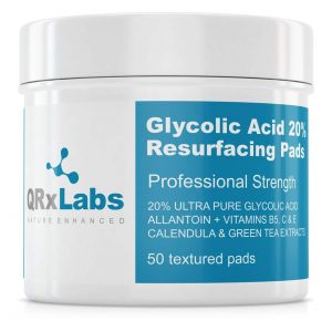 Glycolic Acid 20% Resurfacing Pads for Face & Body