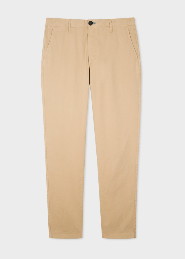 Men's Slim-Fit Chinos  For Summer Outfit