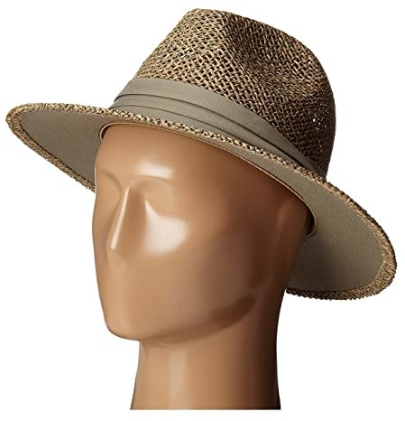 Rush Straw Wide Brim Fedora