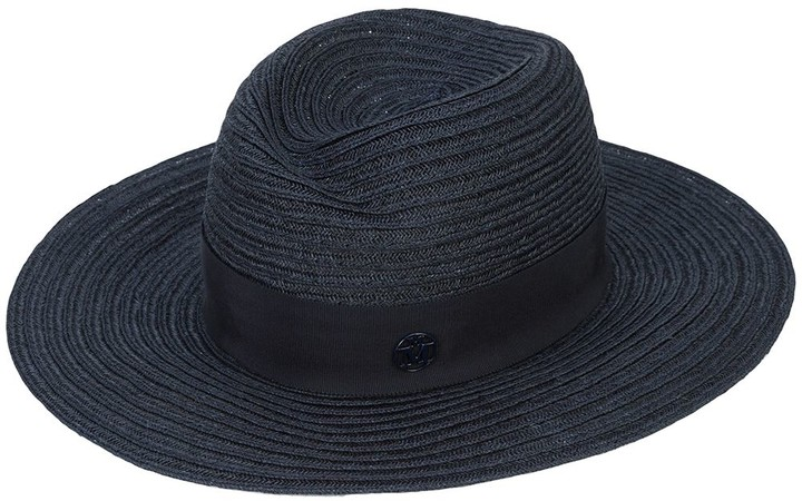 Navy Panama Men's Summer Hat