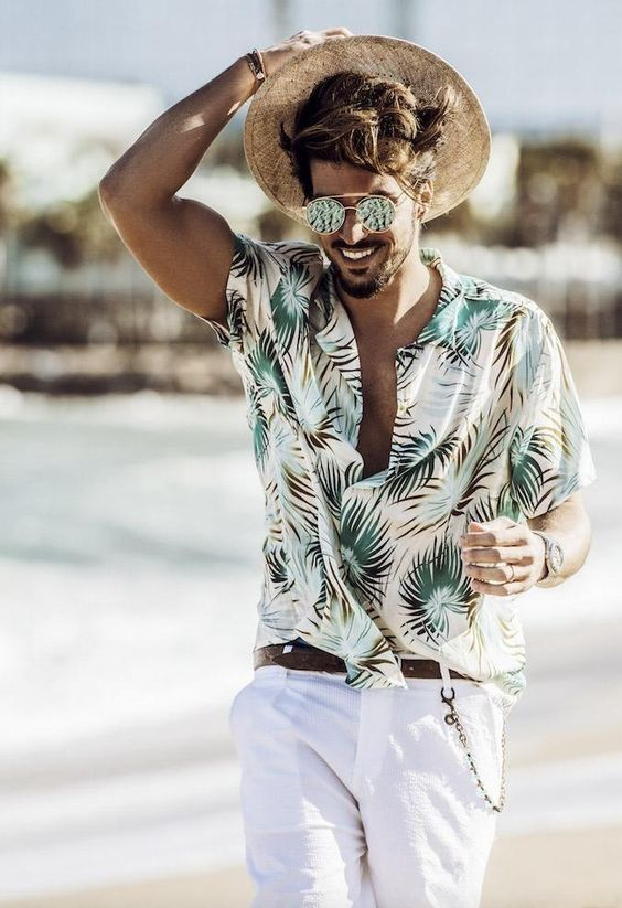 men's beach vacation clothes