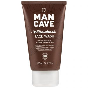 ManCave Willow Bark Face Wash men with dry skin