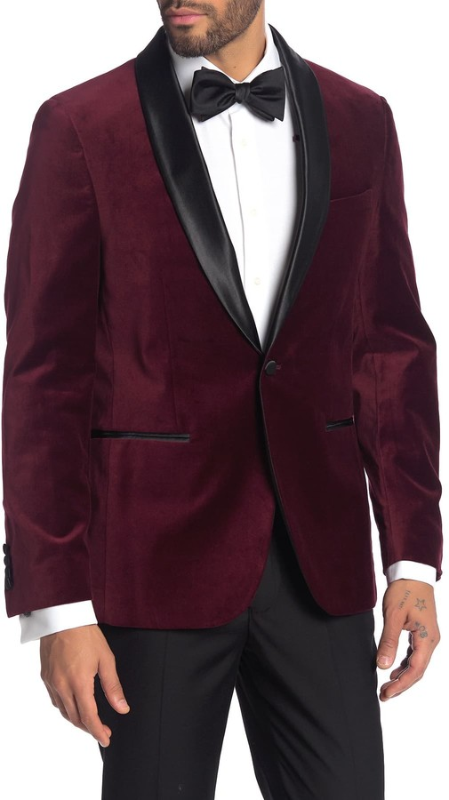 White and Burgundy Color Combination
