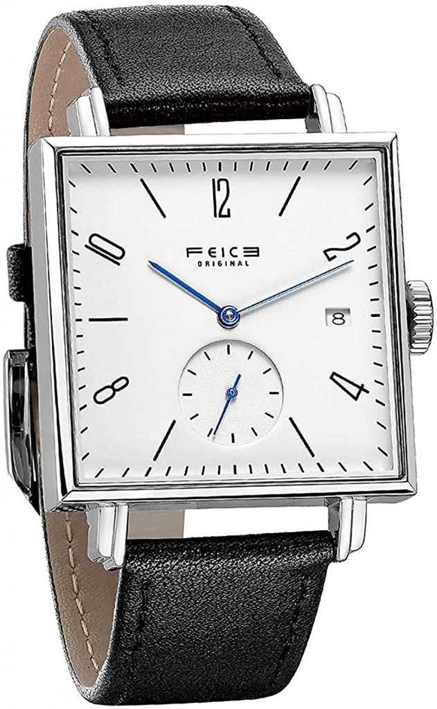 FEICE MEN'S SQUARE WATCH