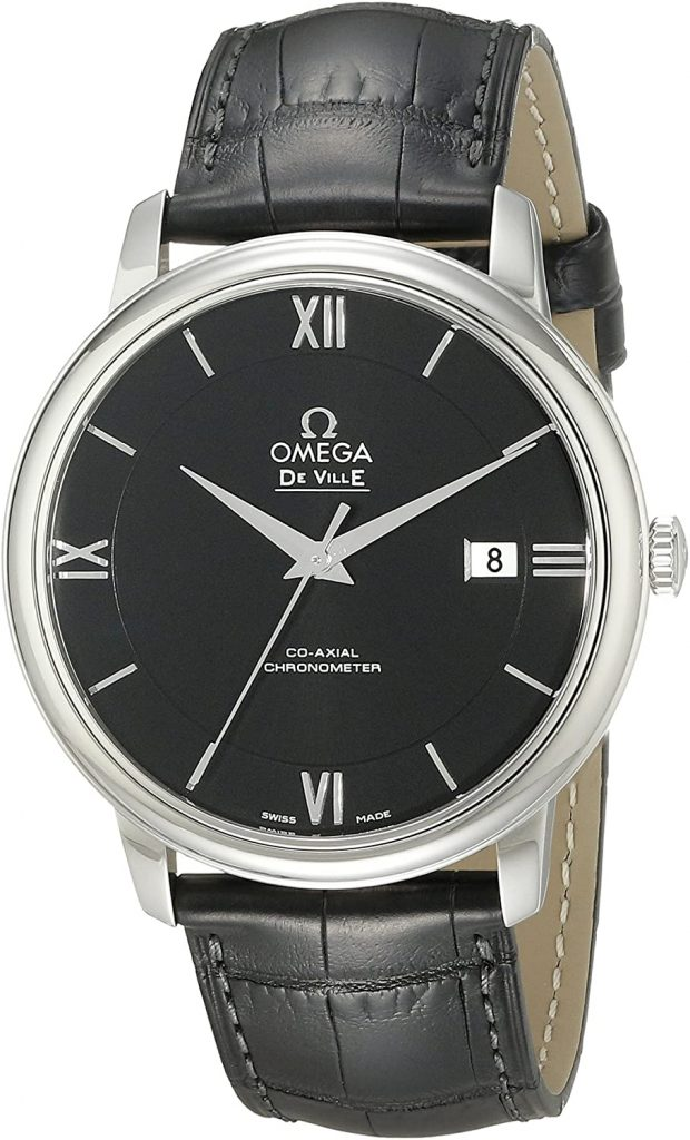 OMEGA MEN'S STAINLESS STEEL WATCH