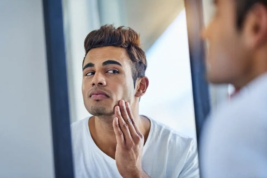 MALE ACNE: HOW TO GET RID OF PIMPLES